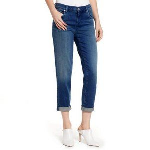 Blank NYC The Ludlow Crop Girlfriend Jeans